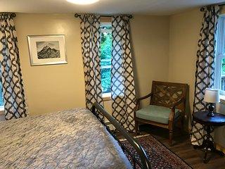 The first floor bedroom