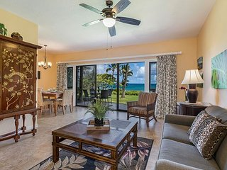 Kaha Lani #125 Wake up to Pacific Ocean Sunrises, 2 Private Oceanfront Lanais