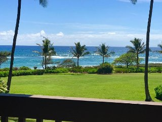 Kaha Lani Resort #214, Ocean View, Walk to Beach, Washer/Dryer, Wifi, Parking