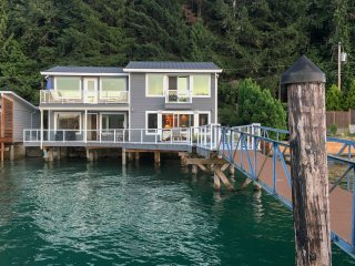 NEW! 3BR Union Home on 'Gold Coast' of Hood Canal!