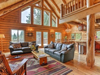 Splendid McCloud Home on 40 Acres w/Mountain Views