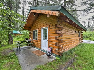 NEW! Cozy Seward Studio Cabin Near Salmon Creek!