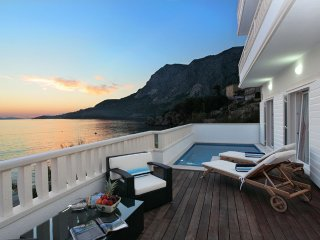 Luxury Villa Exclusive Jadran with pool at the beach near Makarska
