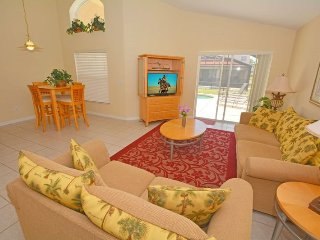 154SA. Cute 4 Bedroom 3 Bath Pool Home is Solana Resort