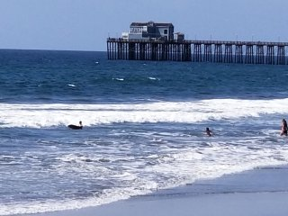 Oceanside Rocks family beach rentals  This home can easily sleep 8 adults