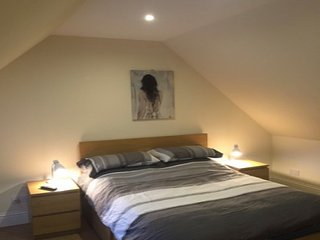 Large Double Bedroom No1 with shared bathroom