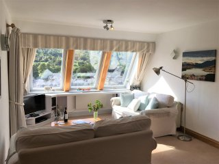 Light and spacious lounge overlooking ambleside and the fells.