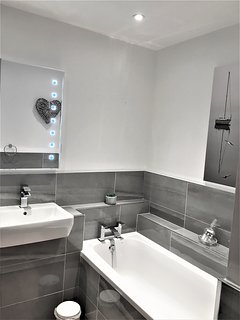 New bathroom.