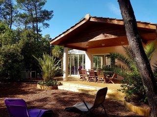 Villa de standing avec spa, entre océan et bassin dArcachon.