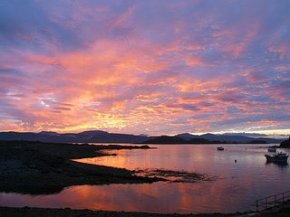 An Rhuba Holiday cottage near Oban on Easdale Island - stunning views, sleeps 6
