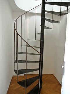 Designed stairs to the upper floor