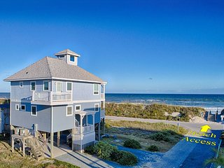 Topsail Road 321 Oceanview! | Cute Beach Cottage only steps away from the beach