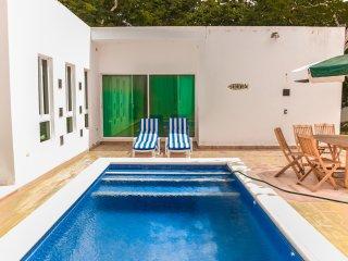 Beautiful big garden house 2 bdr + pool