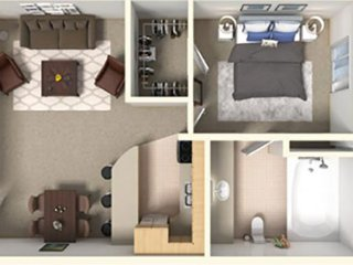 Park Suites at 232 - One Bedroom Apartment