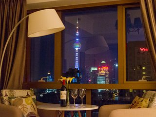 BUND 外滩 Cityscape Dream Shanghai Modern Apartment