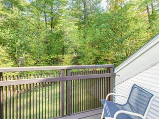 Ski-in/ski-out Sunrise townhome great for year-round retreats!