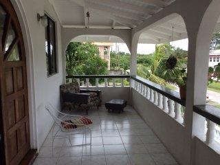 View from the varanda (balcony)