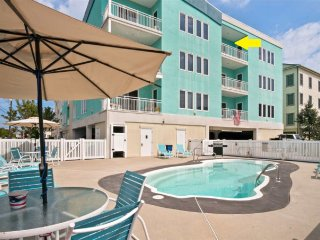 New to Market! 3 Bdr * Ocean Views * Pool * Steps to Beach * Elevator