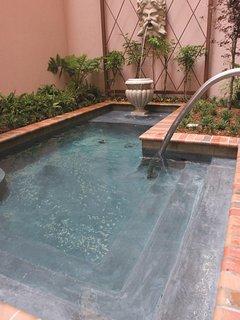 Wyndham La Belle Maison hot tub