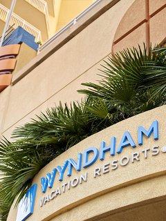 Wyndham Vacation Resort Ocean Boulevard property logo