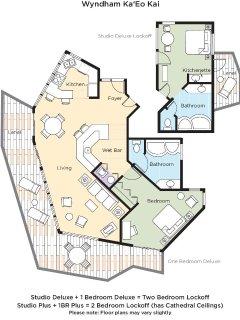 Wyndham Ka Eo Kai floor plan