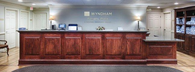 Wyndham Patriots' Place lobby