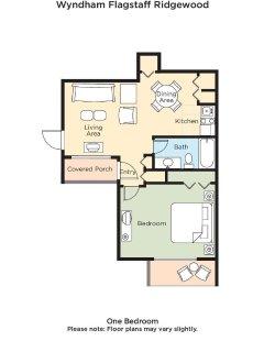 Wyndham Flagstaff floor plan