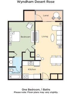 Desert Rose Resort floor plan