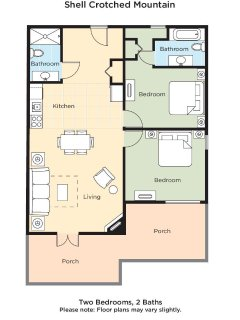 Crotched Mountain Resort floor plan