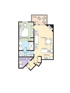 Carriage Ridge Resort floor plan