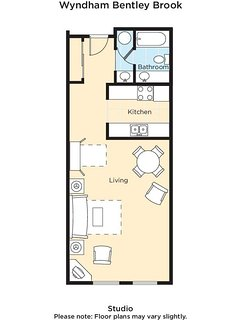 Wyndham Bentley Brook floor plan