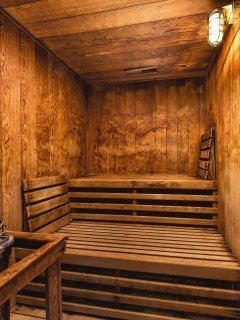 WorldMark Galena sauna