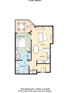 Vino Bello Resort floor plan