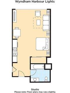 Wyndham Harbour Lights floor plan