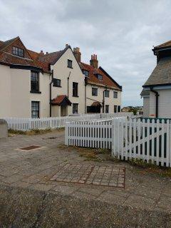 Mudeford Quay houses