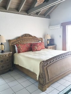 Master bedroom, 1 King bed with full bath & balcony