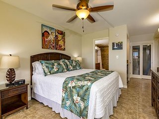 Maui Banyan #Q-403A Partial Ocean View Studio, Heart of South Kihei, Sleeps 2