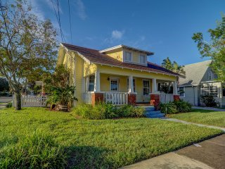 NEW! Vibrant 3BR Dunedin Home 1 Block from Main St!