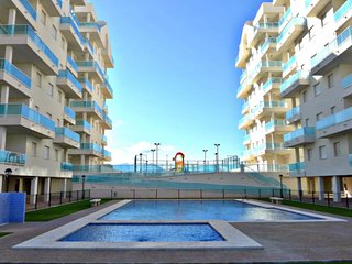 Modern appartement gelegen op het strand van piles.