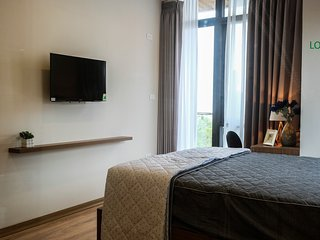 $500 per month Serviced Apartment views West Lake in Hanoi, Vietnam