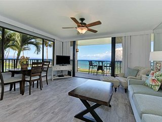 Sea Yourself Here in Papakea #A201~ Corner unit with Amazing Ocean Front Views