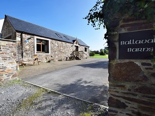 A private entrance to the Barns and Byre.