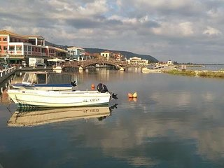 Home by the canal, Lefkada Town