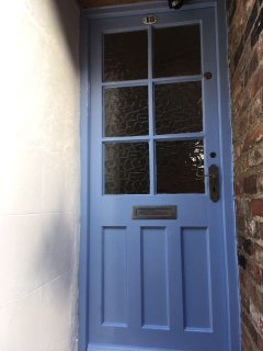 New colour on the door September 2017