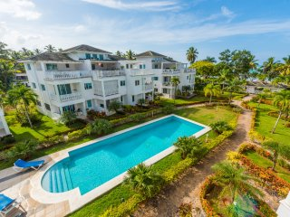 Las Terrenas Ocean View Penthouse Apartment with 2 BEDS, 2 BATHS