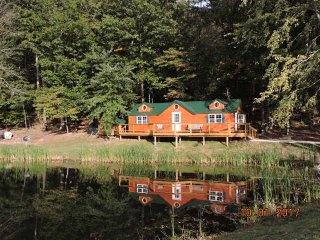 Enjoy the private pond & 200+ acres all to yourself!