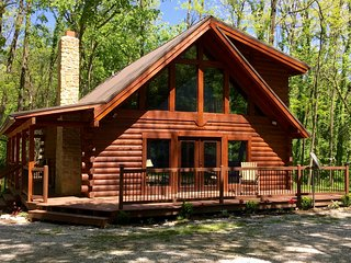 Remodeled Log Cabin Surrounded by 6000 Acres of Wilderness