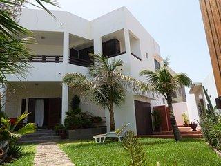 Villa a deux pas de la mer vue sur ocean, quartier residentiel Yoff Djily Mbaye