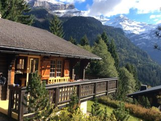 Chalet/ Apartment Top Level With View On The Glacier