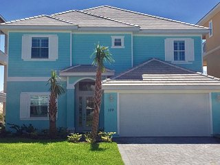 BRAND NEW!  Blue Breeze Home In Cinnamon Beach! 5 Suites & Private Pool !!!